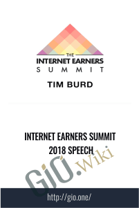 Internet Earners Summit 2018 Speech