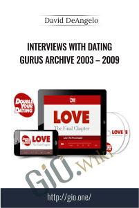 Interviews with Dating Gurus Archive 2003 – 2009 – David DeAngelo