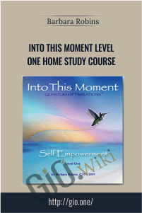 Into This Moment Level One Home Study Course – Barbara Robins