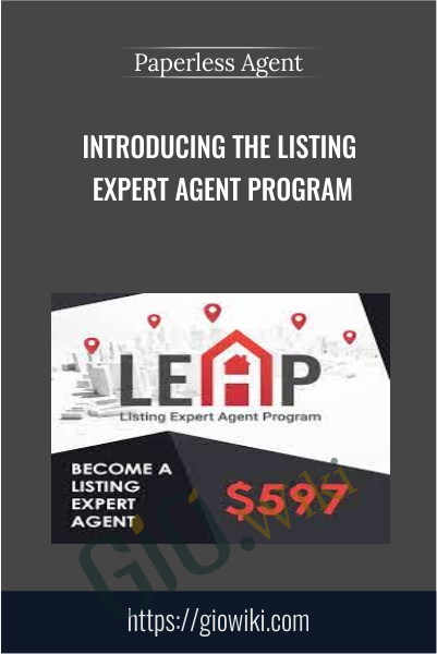 Introducing the Listing Expert Agent Program - Paperless Agent