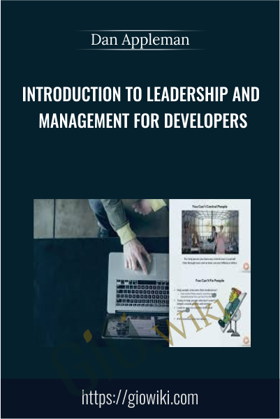 Introduction to Leadership and Management for Developers - Dan Appleman
