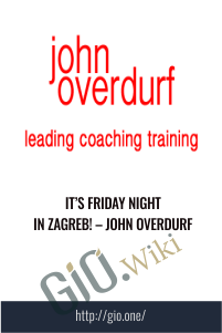 It's Friday Night In Zagreb! – John Overdurf