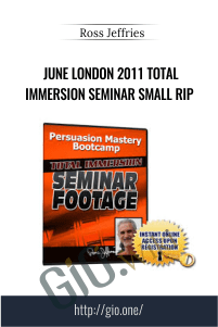 June London 2011 Total Immersion Seminar Small RIP – Ross Jeffries