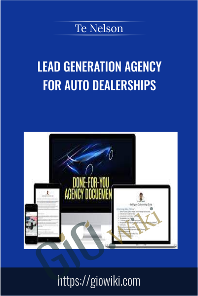 Lead Generation Agency for Auto Dealerships - Te Nelson