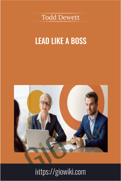 Lead Like a Boss - Todd Dewett