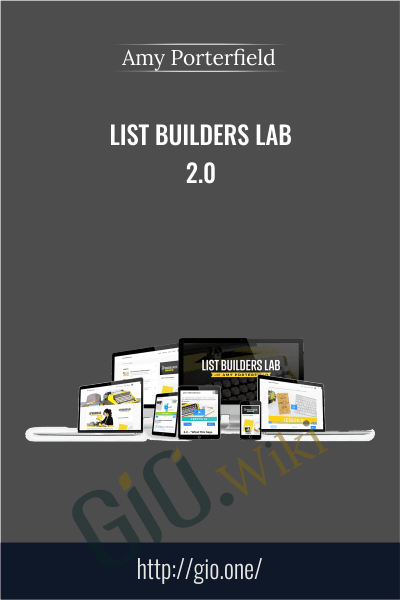 List Builders Lab 2.0 - Amy Porterfield