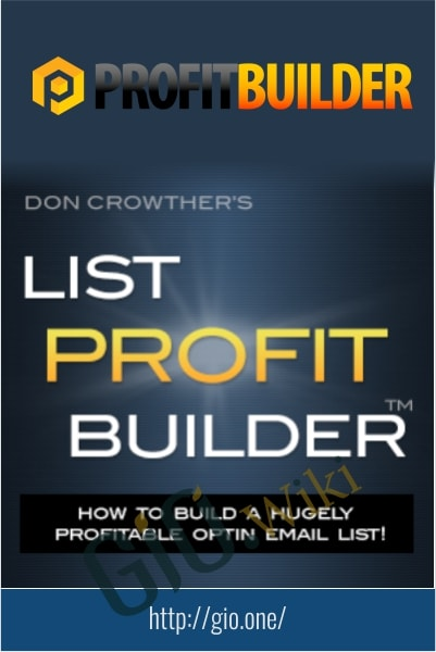 List Profit Builder - Don Crowther