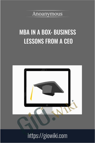 MBA in a Box: Business Lessons from a CEO
