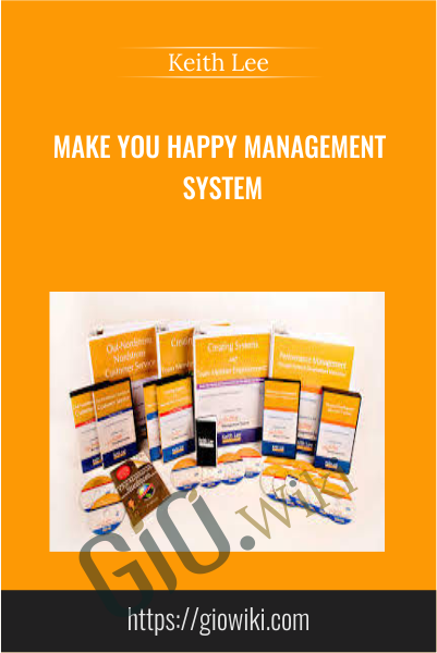 Make You Happy Management System - Keith Lee
