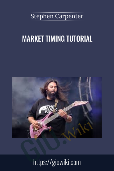 Market Timing Tutorial - Stephen Carpenter