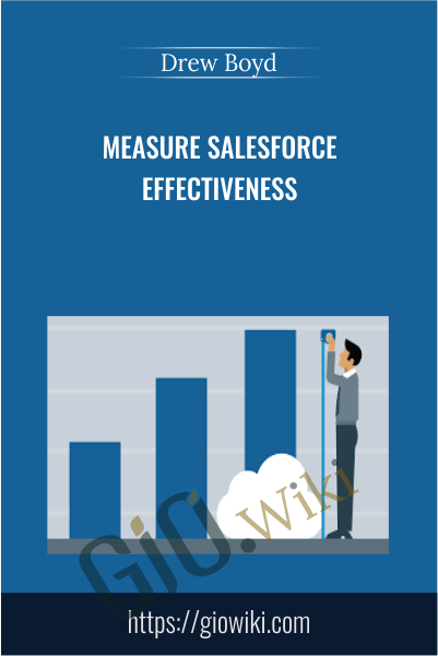 Measure Salesforce Effectiveness - Drew Boyd