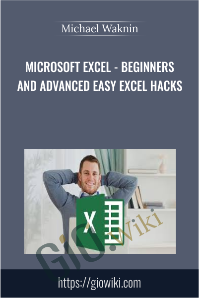 Microsoft Excel - Beginners And Advanced Easy Excel Hacks - Michael Waknin