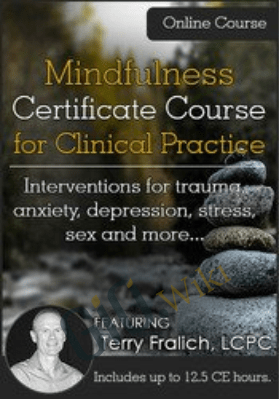 Mindfulness Certificate Course for Clinical Practice Interventions for trauma, anxiety, depression, stress, sex and more - Terry Fralich