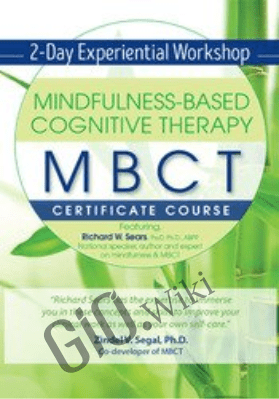 Mindfulness-Based Cognitive Therapy (MBCT) Certificate Course Experiential Workshop - Richard Sears