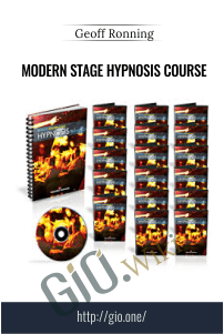 Modern Stage Hypnosis Course – Geoff Ronning