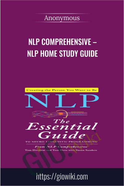 NLP Comprehensive – NLP Home Study Guide
