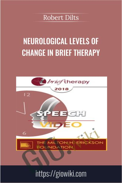 Neurological Levels of Change in Brief Therapy - Robert Dilts