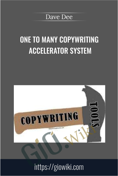 One To Many Copywriting Accelerator System - Dave Dee