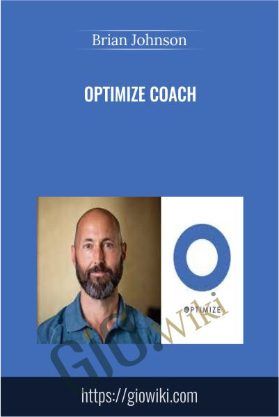 Optimize Coach - Brian Johnson