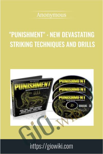"""PUNISHMENT"" : New Devastating Striking Techniques and Drills"
