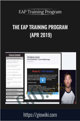 The EAP Training Program (Apr 2019) - EAP Training Program