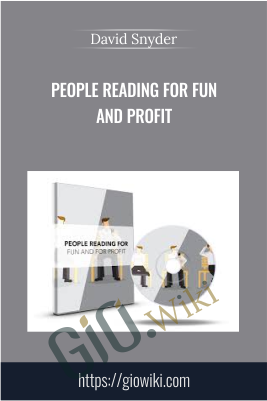 People Reading For Fun And Profit - David Snyder