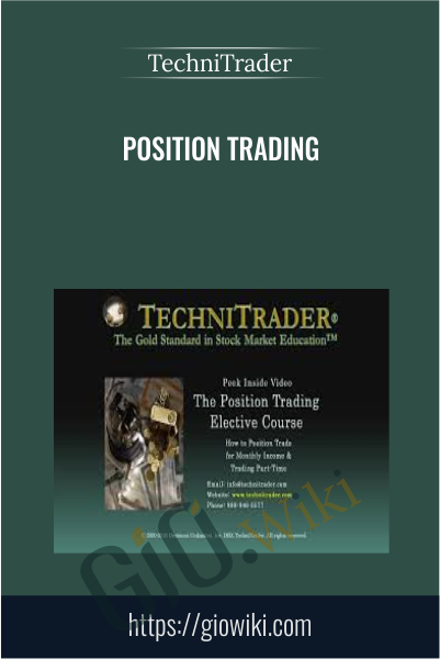 Position Trading - TechniTrader