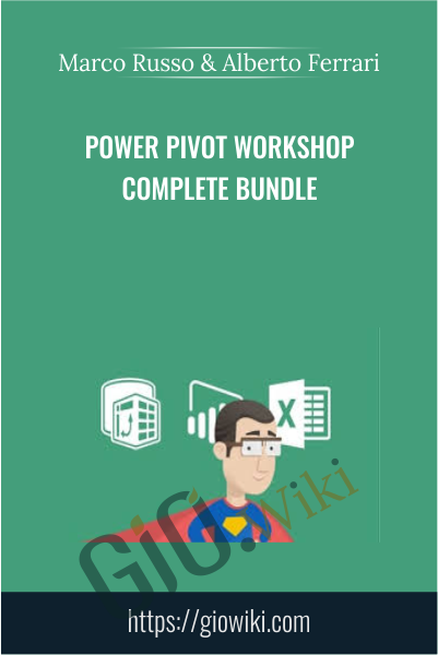 Power Pivot Workshop Complete Bundle - Marco Russo & Alberto Ferrari