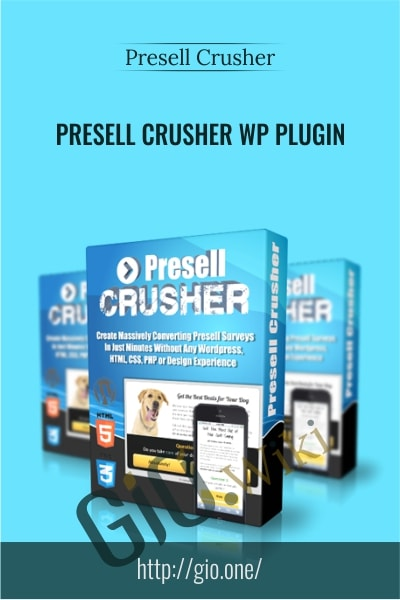 Presell Crusher WP Plugin - Presell Crusher