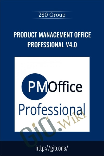 Product Management Office Professional v4.0 - 280 Group