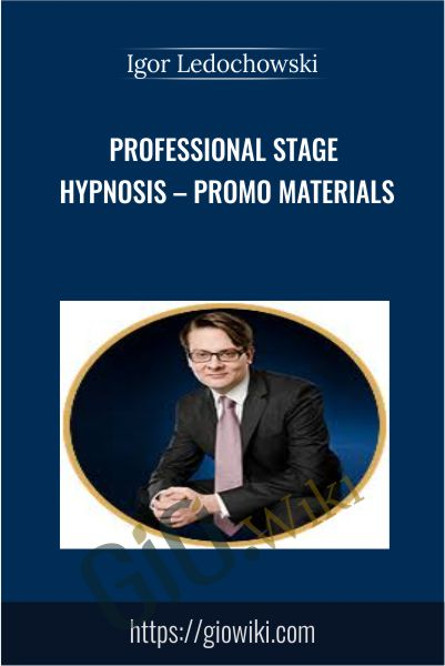 Professional Stage Hypnosis - Promo Materials - Igor Ledochowski