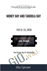 Money day and taboola day - Purple Knowledge Lab