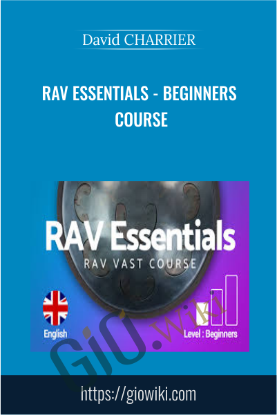 RAV Essentials - Beginners course - David CHARRIER