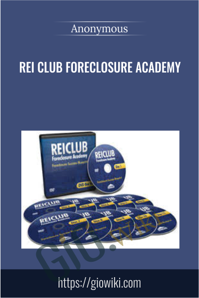 REI Club Foreclosure Academy