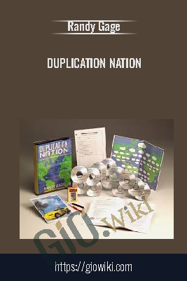 Duplication Nation - Randy Gage