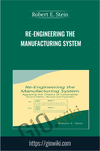 Re-Engineering The Manufacturing System - Robert E. Stein