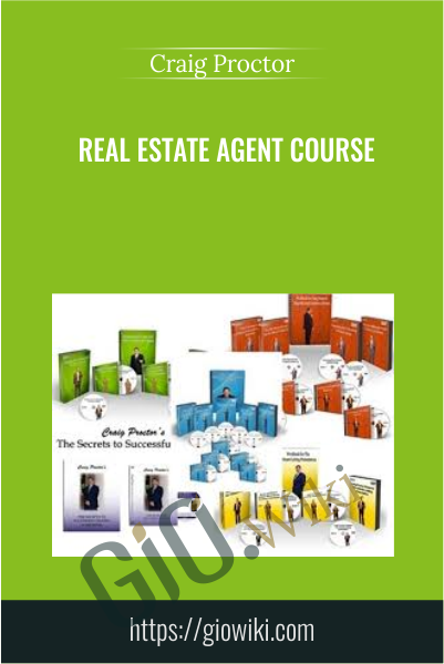 Real Estate Agent Course - Craig Proctor