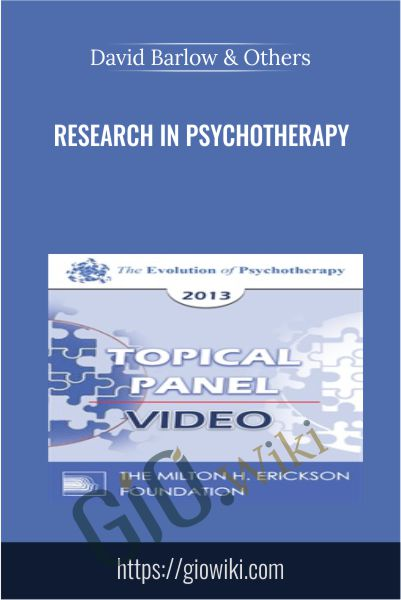 Research in Psychotherapy - David Barlow & Others