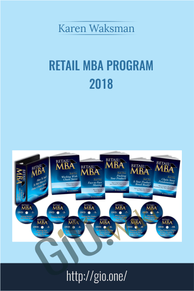Retail MBA Program 2018 - Karen Waksman