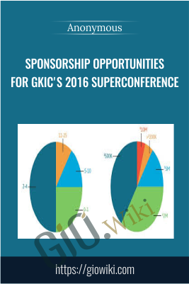 Sponsorship Opportunities  For Gkic's 2016 Superconference