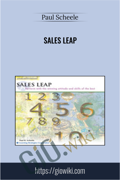 Sales Leap - Paul Scheele