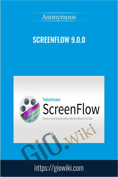 Screenflow 9.0.0