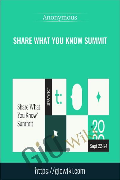 Share What You Know Summit