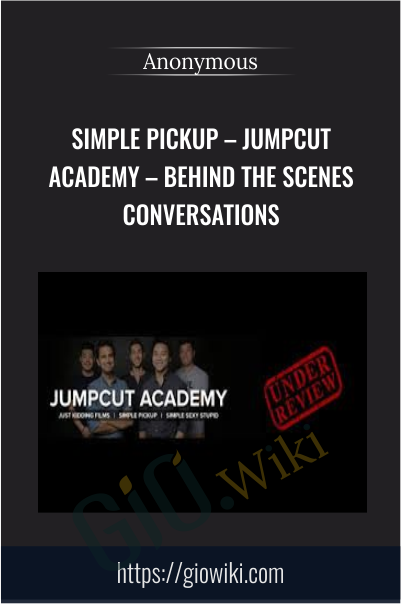 Simple pickup – Jumpcut Academy – Behind the Scenes Conversations