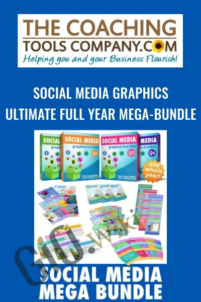 Social Media GRAPHICS: Ultimate Full Year Mega-Bundle