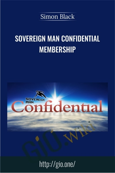 Sovereign Man Confidential Membership - Simon Black