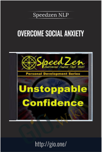 Speedzen NLP – overcome social anxiety