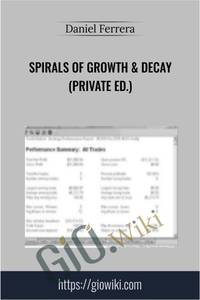 Spirals of Growth & Decay (Private Ed.) - Daniel Ferrera