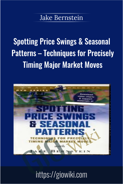 Spotting Price Swings & Seasonal Patterns – Techniques for Precisely Timing Major Market Moves - Jake Bernstein