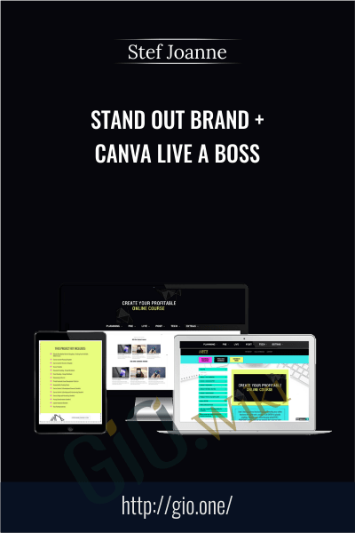 Stand Out Brand + Canva Live A Boss